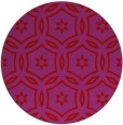 rug #927305   round red rug
