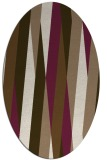 rug #935479 | oval graphic rug
