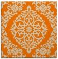 rug #943965 | square orange rug