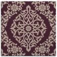 rug #944125 | square pink rug