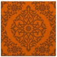 rug #944237 | square red-orange rug