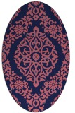 rug #944422 | oval traditional rug