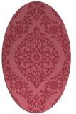 rug #944423   oval damask rug