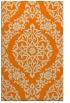 rug #944685 |  orange rug