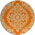 rug #945045   round beige rug
