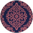 rug #945142 | round traditional rug