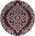 rug #945205   round pink rug