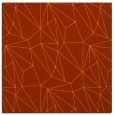 rug #946029 | square red-orange rug