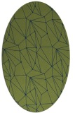 rug #946170 | oval graphic rug