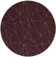 rug #947081   round purple rug