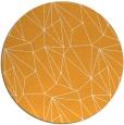 rug #947201   round light-orange rug