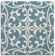 rug #949661 | square blue-green rug