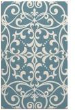 rug #950381 |  blue-green rug