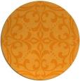 rug #950797   round light-orange rug