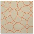 rug #953173 | square orange rug
