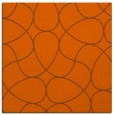 rug #953237 | square red-orange rug