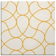 rug #953309 | square light-orange rug