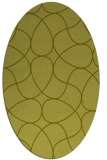 rug #953653 | oval light-green rug