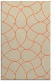 rug #953893 |  orange rug