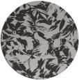 rug #963257 | round red-orange rug