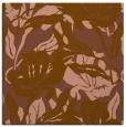 rug #96445   square brown rug