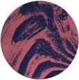 rug #964941 | round blue-violet rug