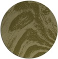 rug #965185 | round light-green rug
