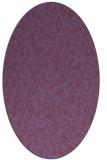 rug #980428 | oval natural rug