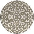 rug #984945   round beige rug