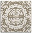 rug #988041   square mid-brown rug