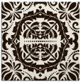 rug #988197   square brown rug