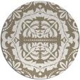 rug #989121   round traditional rug