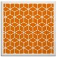 rug #998889 | square orange rug