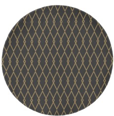 rug #195673 | round rug